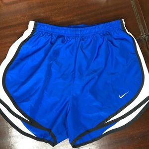Nike Dri-Fit running shorts Royal Blue size small